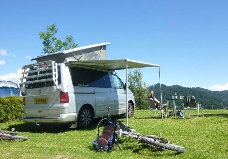 Camper van hire Europe