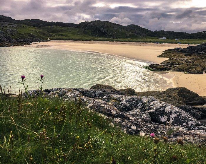 Camper van road trip Scotland