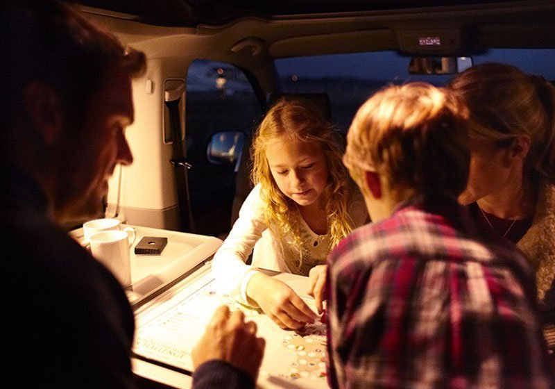 Family Camper van holiday