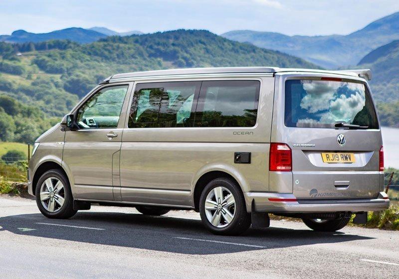 VW-Camper van hire Portsmouth