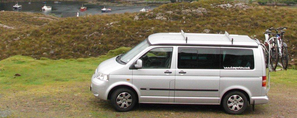 Ireland camper van tour