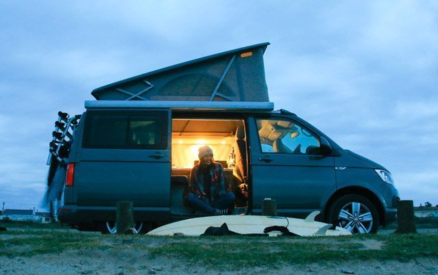 VW California for camping