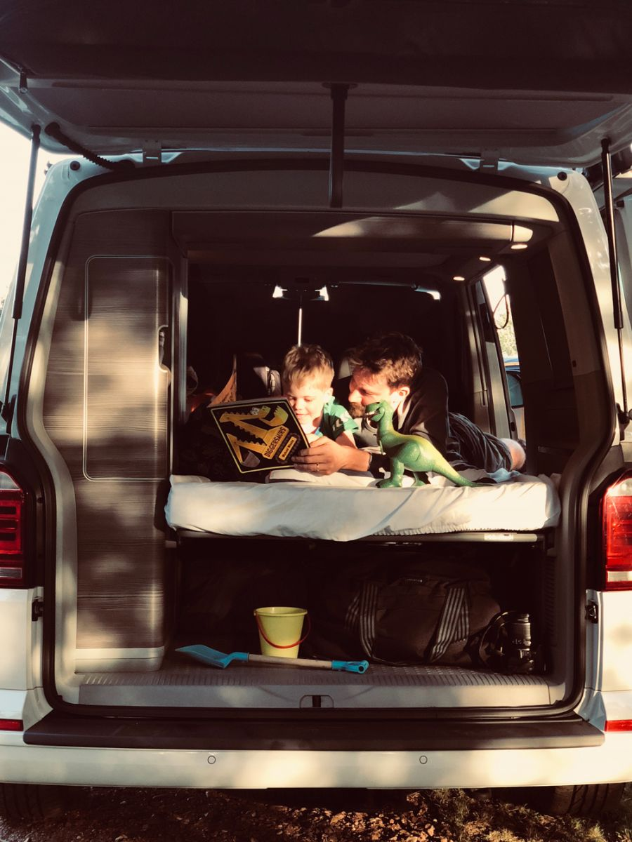 Kid Friendly Camper Van Holidays