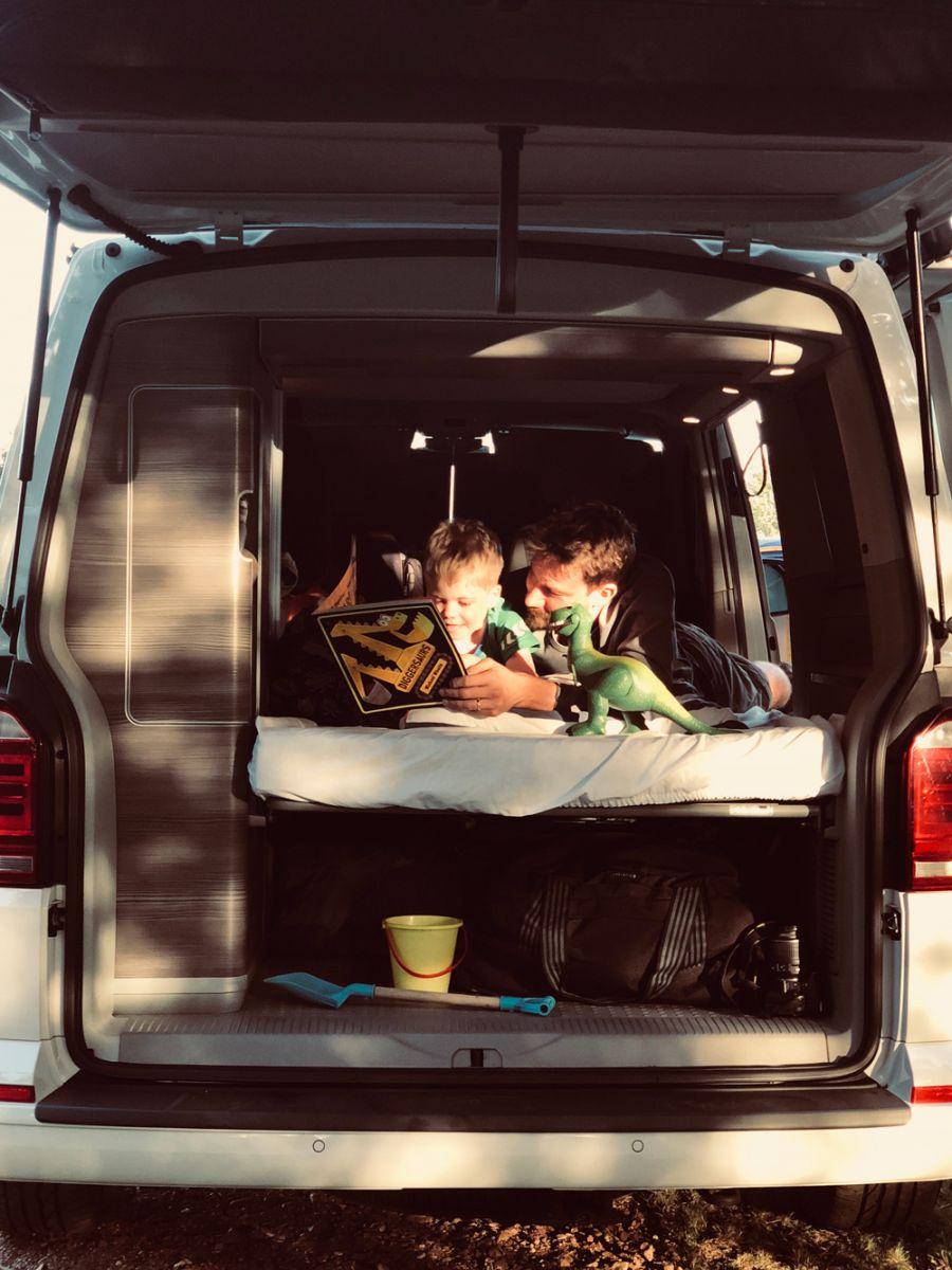 Kid Friendly Camper Van Holidays